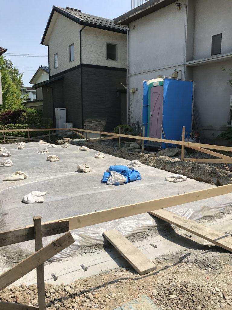 仙台市青葉区K様宅新築工事風景